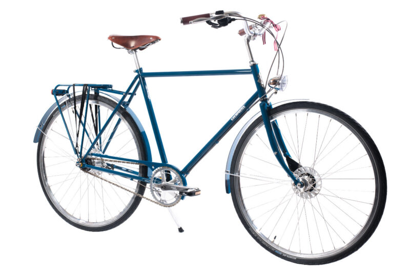 Ērenpreiss Gustav Blue vīriešu komforta velosipēds zilā krāsā - An Erenpreiss Gustav Blue urban commuter bike