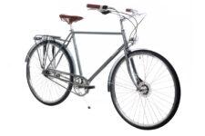 Ērenpreiss Gustav Grey pilsētas velosipēds pelēkā krāsā - An Erenpreiss Gustav Grey men's city cruiser bike