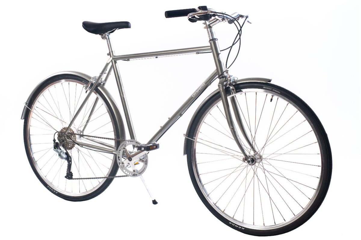 Ērenpreiss Sparrow Gent divritenis vīriešiem ar vieglu rāmi - An Erenpreiss Sparrow lightwheight urban men's bike