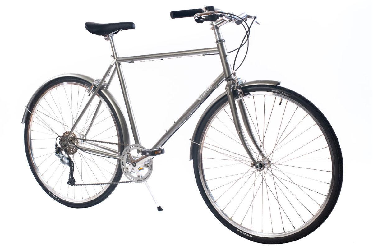 Ērenpreiss Sparrow Gent divritenis vīriešiem ar vieglu rāmi - An Erenpreiss Sparrow lightwheight urban men's bike