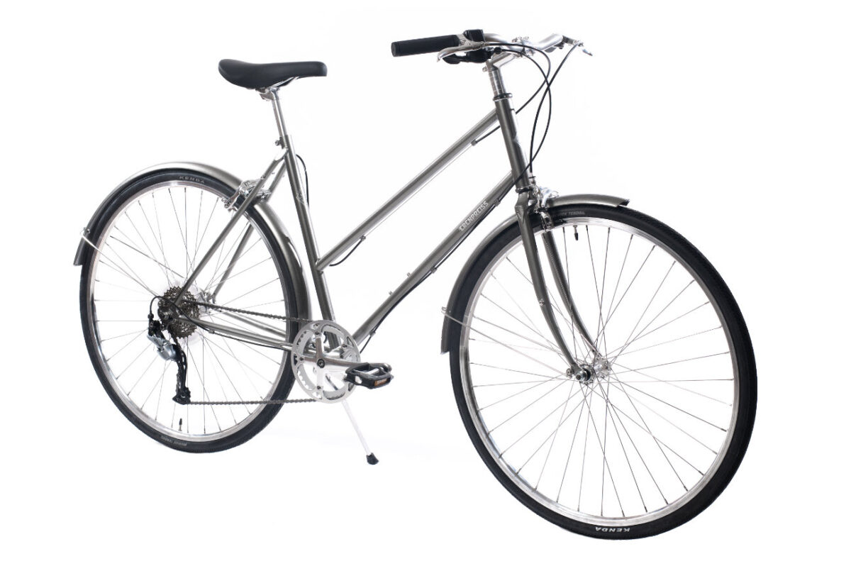 Ērenpreiss Sparrow Lady sieviešu divritenis - An Erenpreiss Sparrow ladies lightwheight city bike