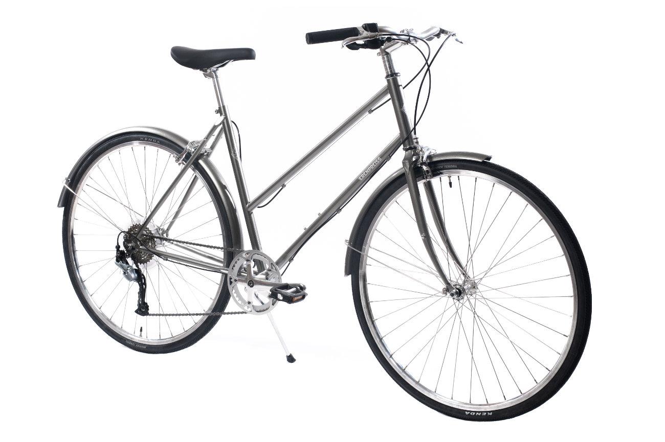 Ērenpreiss Sparrow Lady sieviešu divritenis - An Erenpreiss Sparrow ladies lightwheight city bike